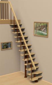 Малогабаритные лестницы на второй этаж